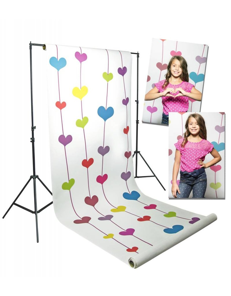 "Savage Savage 53""x18' Floating Hearts"