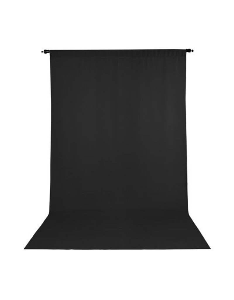 Promaster Wrinkle Resistant Backdrop 5'x9' - Black