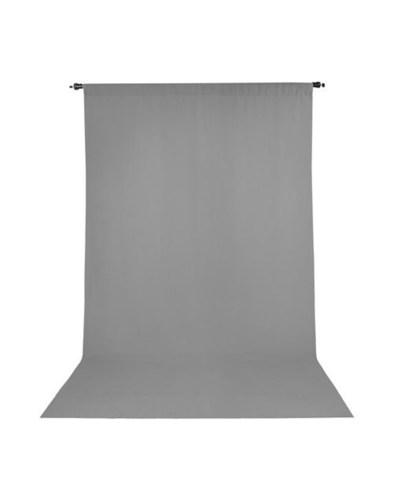 Promaster Wrinkle Resistant Backdrop 5'x9' - Grey