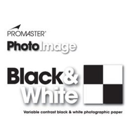 "Promaster B&W Photo Paper 8"" x10"" F Glossy 25 sheets"