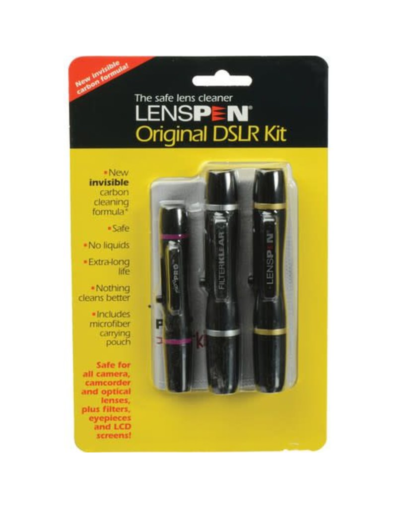 Lens Pen Lenspen DSLR Pro Kit with Invisible Carbon