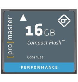 Promaster Compact Flash 16GB 500x Performance