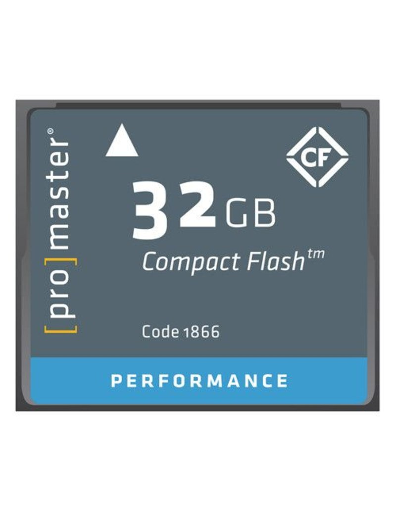 Promaster Compact Flash 32GB 500x Performance