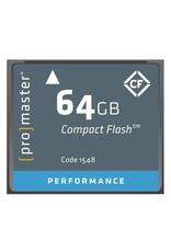 Promaster Compact Flash 64GB 500x Performance