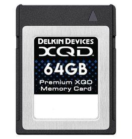 Delkin Delkin 64GB XQD Memory Card 440R/400W