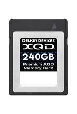 Delkin Delkin 240GB XQD Memory Card 440R/400W