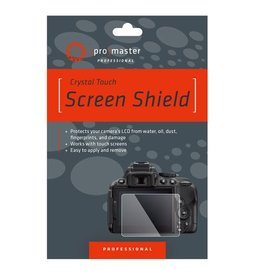 Promaster Crystal Touch Screen Shield - Sony A7III A7RIII A9 A7II A7RII A7SII RX100 RX100II RX100III RX100IV RX100V RX100VA RX100VI RX10 RX10 II RX10 III RX10 IV RX1 RX1R RX1RII