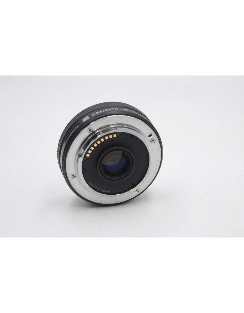 Pre-Owned Olympus Zuiko 25mm f2.8 4/3 Mount
