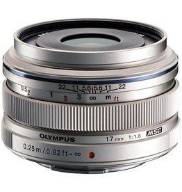 Olympus 17mm f/2.8 Silver