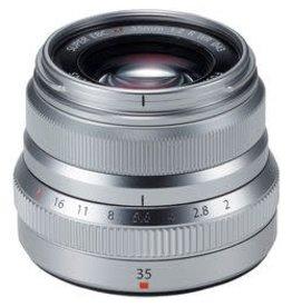 Fuji XF 35mm f/2.0 R WR Lens - Silver
