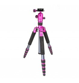 Promaster XC525 Tripod with Head - Pink