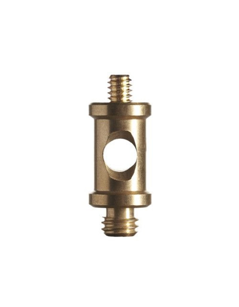 Promaster Short Brass Spigot 1/4-20 male to 3/8 male