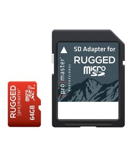 Promaster Micro SD 64GB Rugged