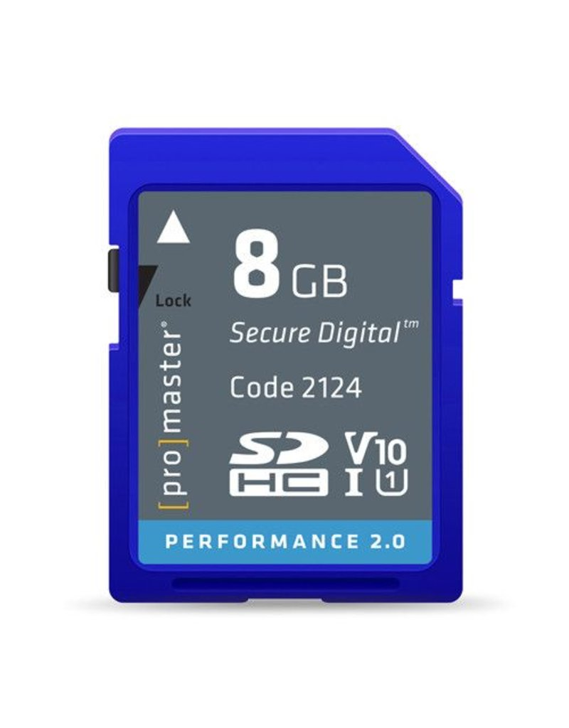 Promaster SDHC 8GB Performance 2.0