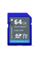 Promaster SDXC 64GB Performance 2.0