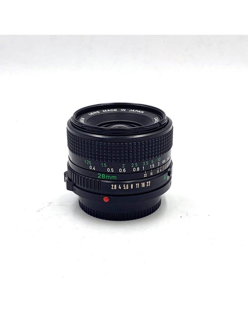 Canon Pre-Owned Canon 28mm F/2.8 FD