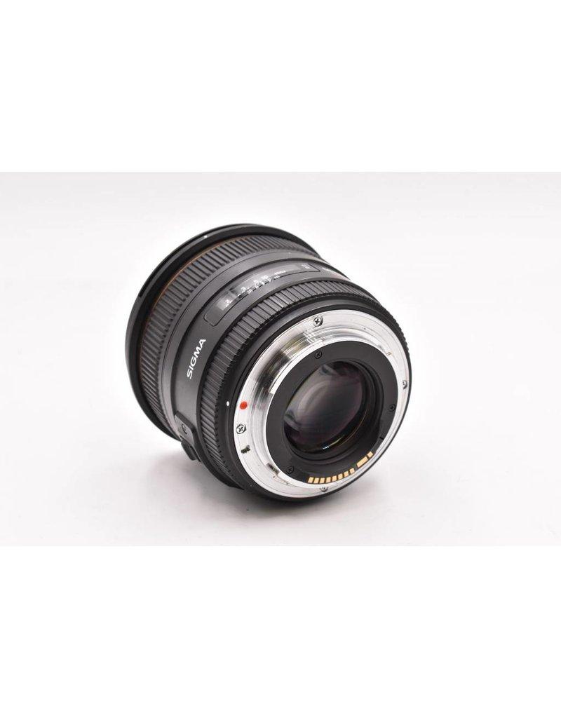 Pre-Owned Sigma 50mm F/1.4 EX DG Canon AF