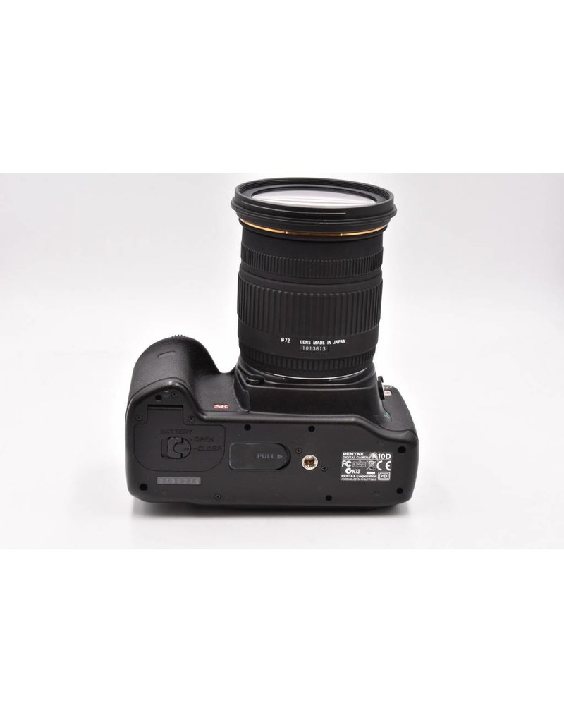 Pre-Owned Pentax K10 SR With Sigma 18-50mm F/2.8