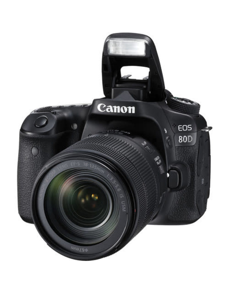 Canon EOS 80D EF-S 18–135mm IS USM Kit