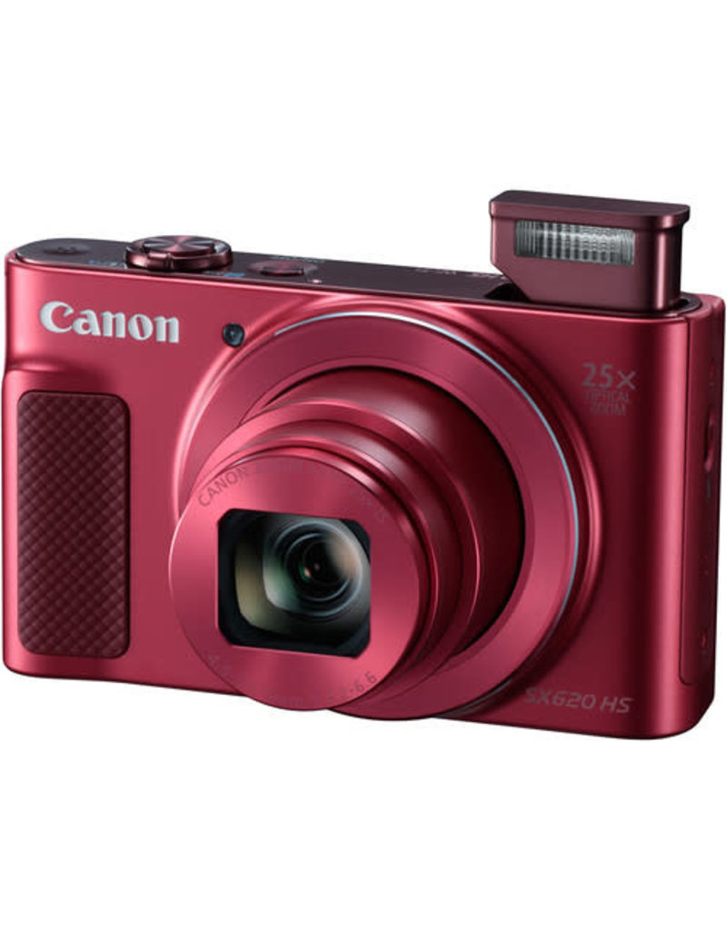 Canon PowerShot SX620 HS Kit (Red)