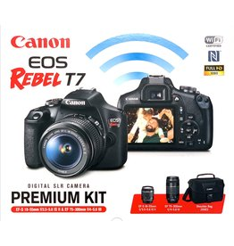 Canon EOS Rebel T7 EF-S 2 Lens Kit