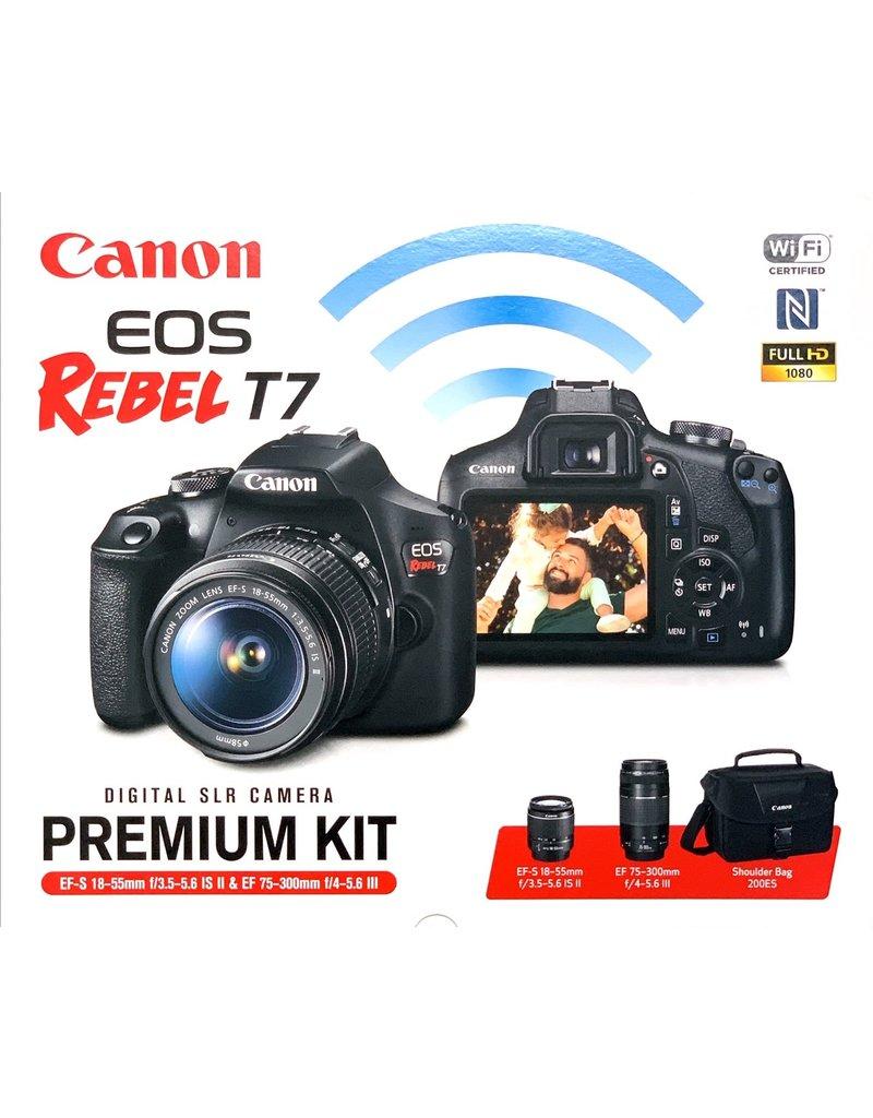 Canon EOS Rebel T7 EF-S 2 Lens Kit