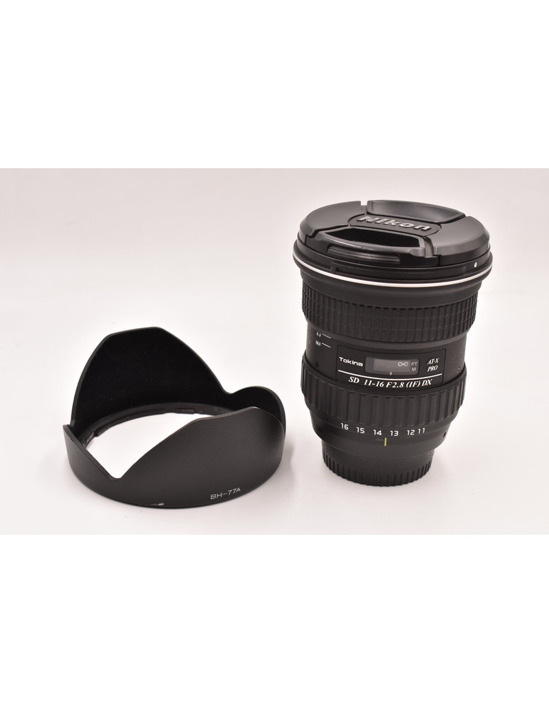 Pre-Owned Tokina SD 11-16mm F/2.8 IF DX  For Nikon