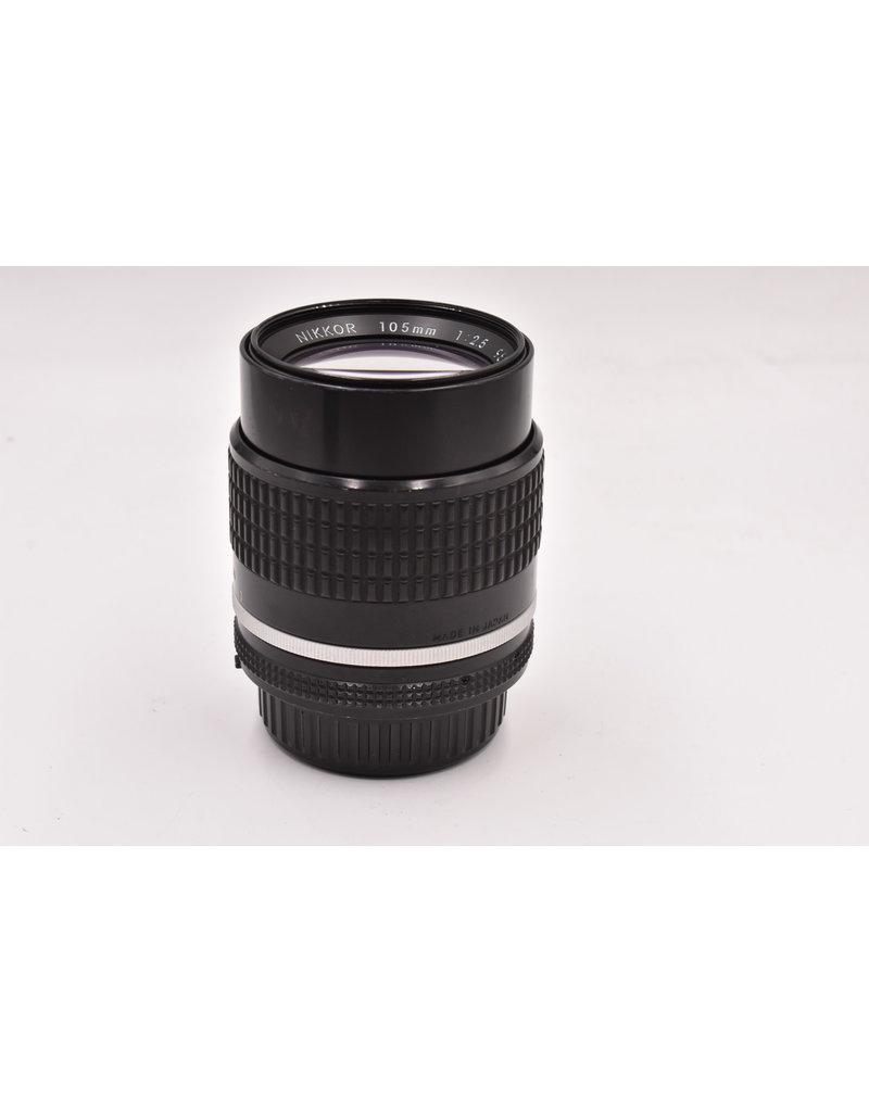 Nikon Pre-Owned Nikon AI-S 105mm F/2.5