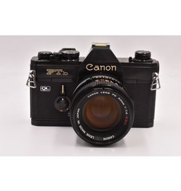 Canon Pre-Owned Cano FTB QL With 50mm F/1.4