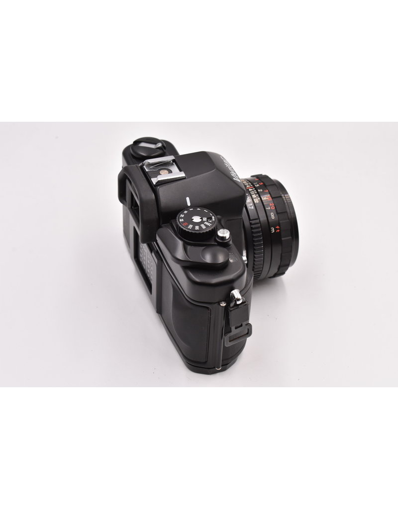 Pre-Owned Vivitar V3800N With 50mm f1.7 and Flash