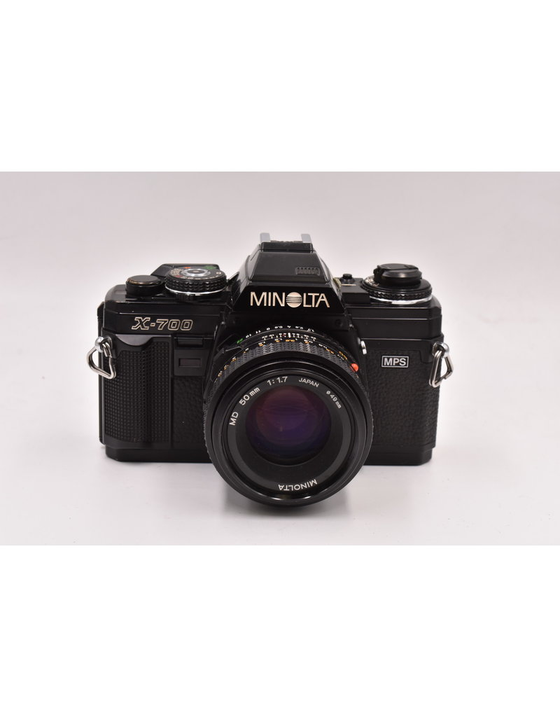 Pre-Owned Minolta X-700 With 50mm F/1.7