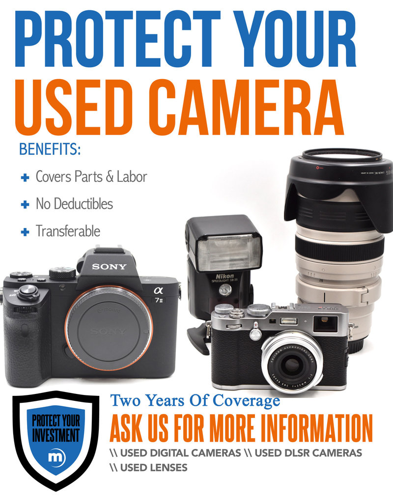 2 Year Used Lens Warranty Under $5000