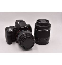 Sony Pre-Owned Sony A55 2 lens kit