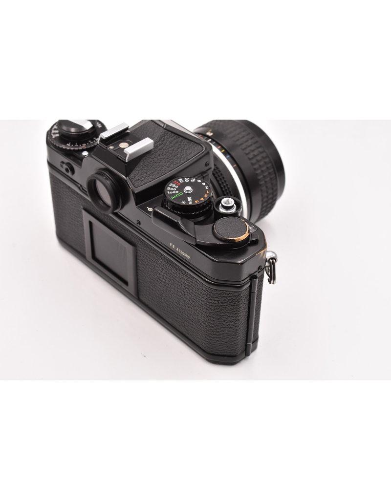 Nikon Pre-Owned Nikon FE With 28mm F/3.5