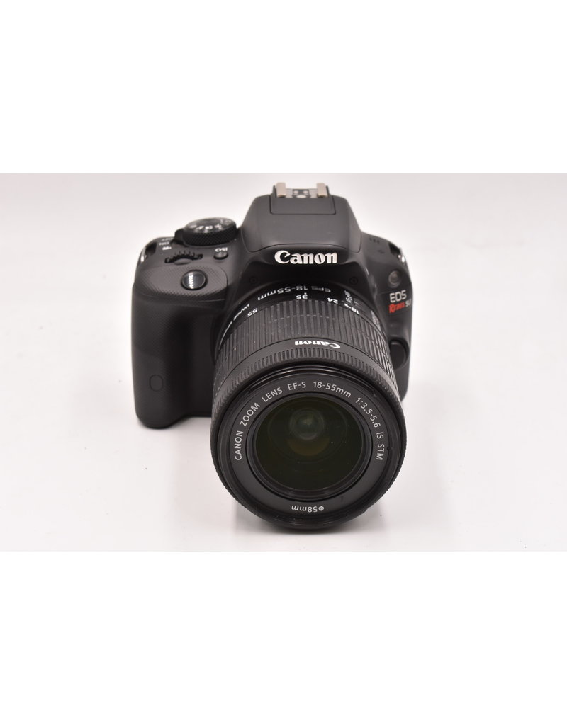Canon Pre-Owned Canon EOS Rebel SL1 With 18-55mm STM