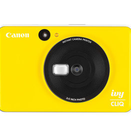 Canon IVY CLIQ Instant Camera Printer Bumble Bee Yellow