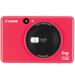 Canon IVY CLIQ Instant Camera Printer Lady Bug Red