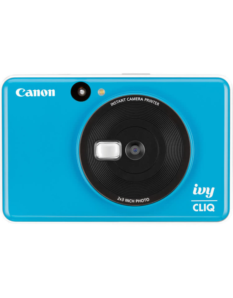 Canon IVY CLIQ Instant Camera Printer Seaside Blue