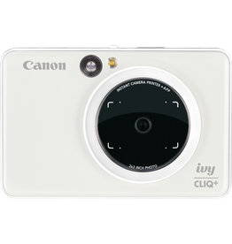 Canon IVY CLIQ+ Instant Camera Printer Pearl White