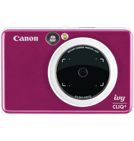 Canon IVY CLIQ+ Instant Camera Printer Ruby Red