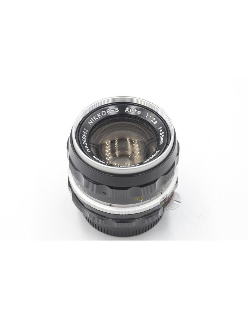 Nikon Pre-Owned Nikon Nikkor-S Auto 35mm F/2.8