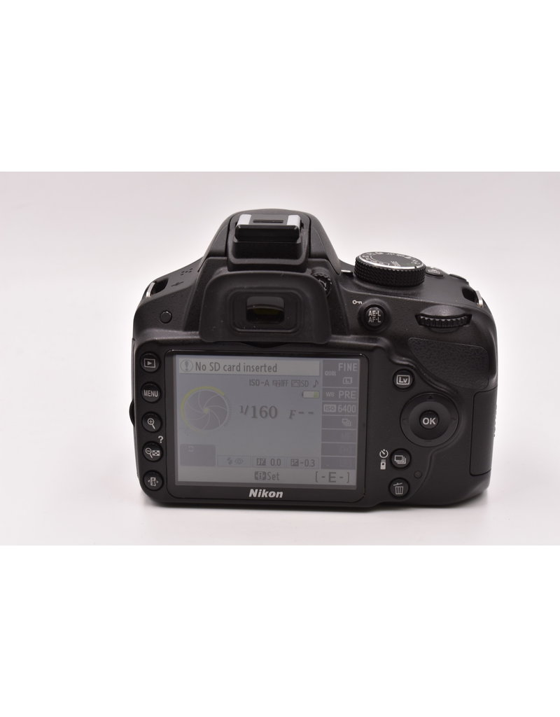 Nikon Pre-Owned Nikon D3200 24MP With 18-55mm VR