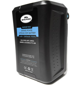 Savage Savage Power Lithium-Ion Battery with Charger (V-Mount)