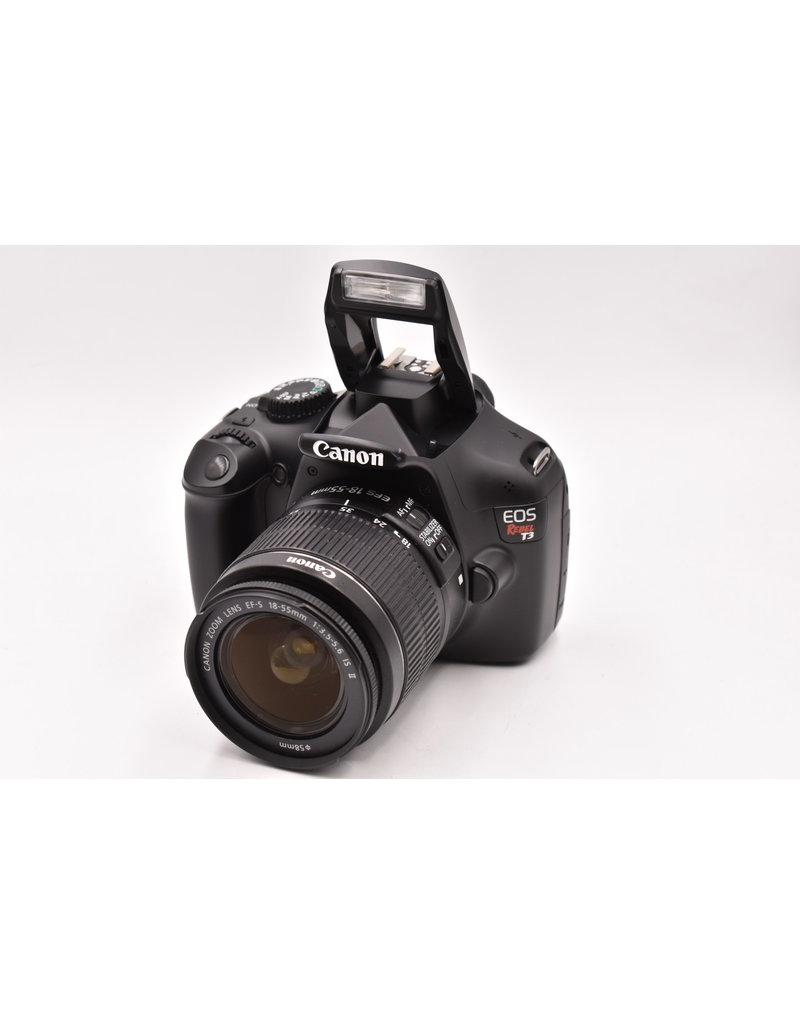 Canon Pre-Owned Canon Rebel T3 With 18-55mm