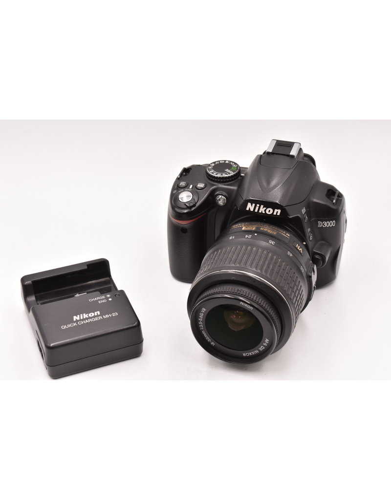 Nikon Pre-Owned Nikon D3100 With 18-55mm
