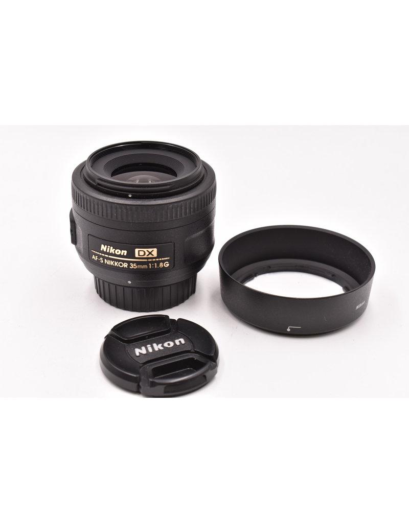 Nikon Pre-Owned Nikon 35mm F1.8G DX