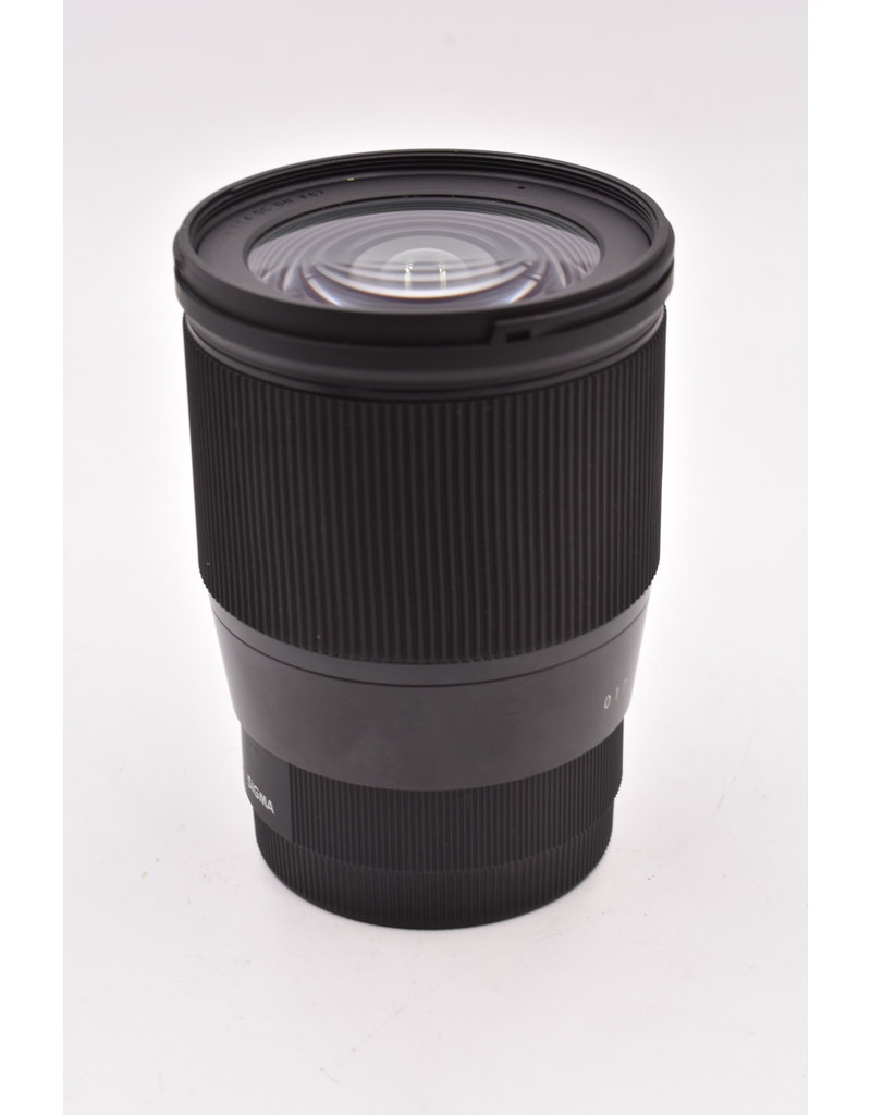 Pre-Owned Sigma 16mm F1.4 DC DN For Sony FE