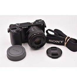 Sony Pre-Owned Sony A6000 With 35mm F1.8 OSS
