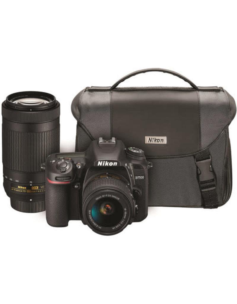 Nikon Nikon D7500 18-55mm + 70-300mm VR