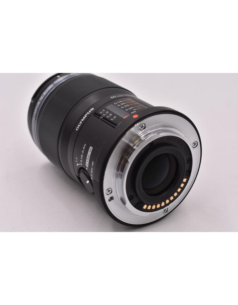 Pre-Owned Olympus 60mm F2.8 Macro ED MSC M4/3